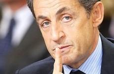 Nicolas Sarkozy on visit in Bordeaux