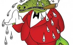 lacrimi de crocodil, baron