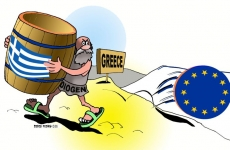 grecia cartoon euro
