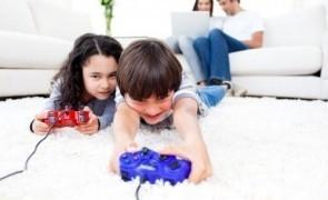 copii jocuri video