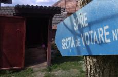 sectie de votare vot alegeri latrina