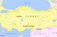 incirlik harta turcia