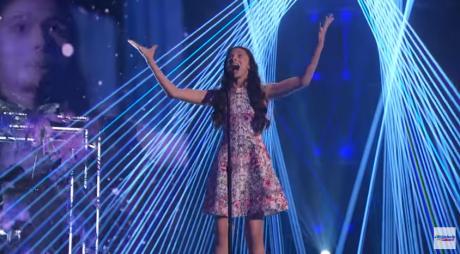 Laura Bretan a făcut din nou spectacol  la 'America's Got Talent'