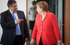 Sigmar Gabriel Angela Merkel