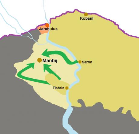 Lupte violente între armata turcă și grupările arabo-kurde. Kurzii acuză folosirea armelor chimice