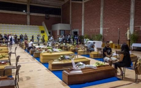 Trupurile a cinci dintre românii morți în Italia vor fi repatriate luni