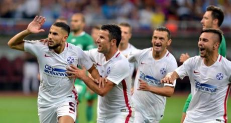 Steaua a bătut-o pe Pandurii și conduce Liga I / VIDEO