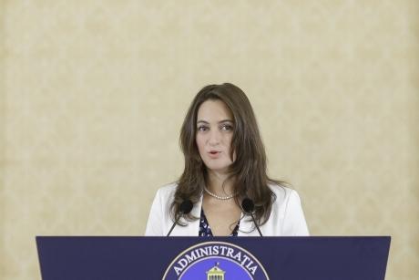 Detalii neștiute despre purtătoarea de cuvânt a președintelui Iohannis, Mădălina Dobrovolschi