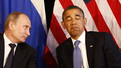Vladimir Putin face mișto de americani: 'Printre problemele mitice, imaginare, se află isteria'