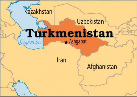 Președintele Turkmenistanului obține al treilea mandat