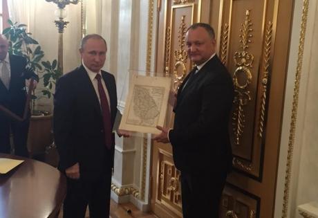 Pe CINE a invitat Dodon la Chișinău după întâlnirea cu Putin