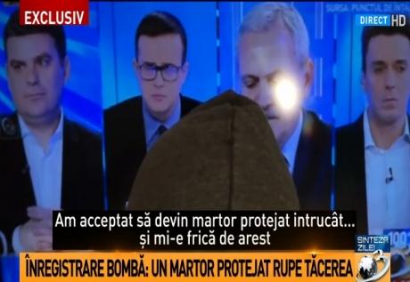 Martor protejat al DNA, acuzaţii fără precedent la Antena 3/ VIDEO