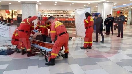 O femeie A MURIT într-un mall din București: A căzut de la înălțime