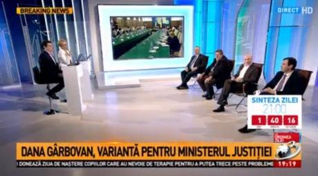 SCANDAL la Antena 3: Ce a putut face Codrin Ștefănescu și la ce a recurs Dana Grecu / FOTO