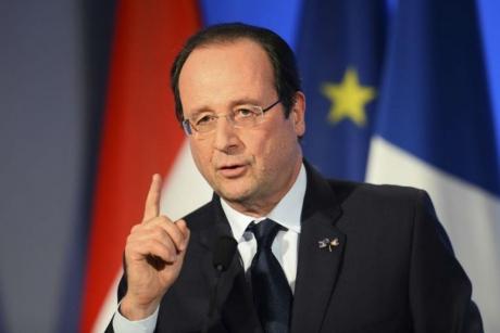 Gestul făcut de François Hollande, după primul tur al prezidențialelor