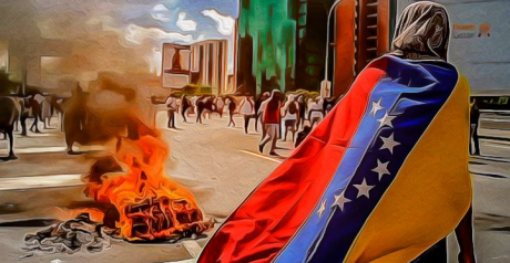 Blocaje în toată Venezuela pentru plecarea de la putere a președintelui Nicolas Maduro/ VIDEO