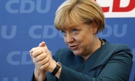 Angela Merkel înlătură orice temeri: 'Sunt capabilă să-mi exercit funcţia'