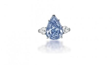 Un diamant foarte rar, scos la licitație pentru 30 - 50 de milioane de dolari