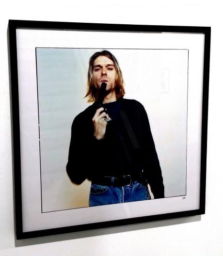 O farfurie de carton de pe care Kurt Cobain a mâncat pizza a fost vândută la licitație pentru 22.400 de dolari