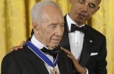 Barack Obama, Shimon Peres