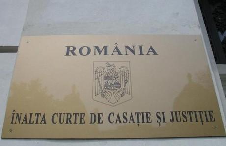 ALERTĂ - Înalta Curte de Casaţie şi Justiţie sesizează CCR pe două legi