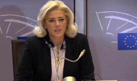 Corina Crețu, moment de sinceritate: 'Plec tristă, de fiecare dată, din România'. Care este mâhnirea comisarului european