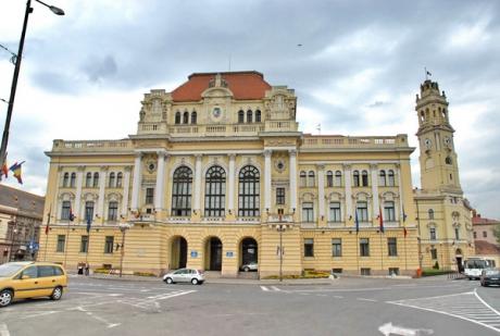 Maghiarii din Oradea s-au rugat împreună în Piaţa Unirii din centrul oraşului