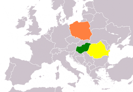 Romania is half-way from Hungary and Poland in terms of companies with 1M euro turnover per 1M inhabitants (INACO)