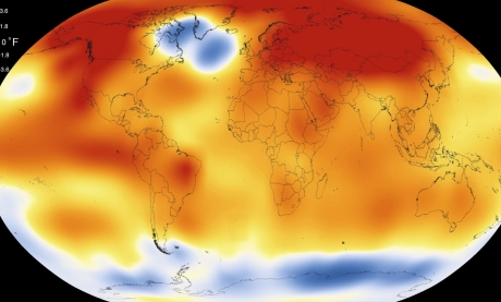 Încălzire globală - Anul 201, al doilea cel mai călduros din istoria Terrei de când a început înregistrarea temperaturilor