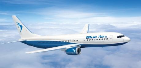 Blue Air reia zborurile internaţionale de la Cluj Napoca. Compania anunță 13 rute noi