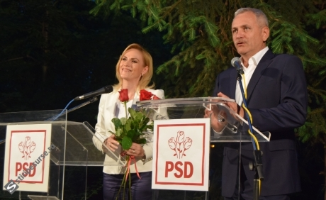 Liviu Dragnea O CONTREAZĂ pe Gabriela Firea, după ce salvat-o de la excludere: 'Nu e prima ședință de acest gen' - VIDEO