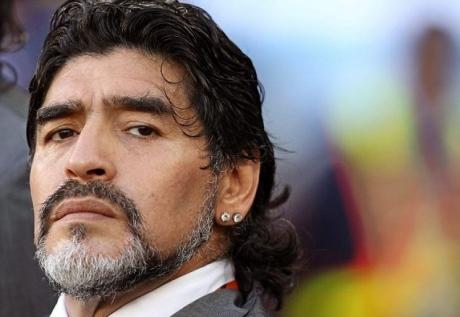 Diego Maradona, MARELE ABSENT de la Cannes