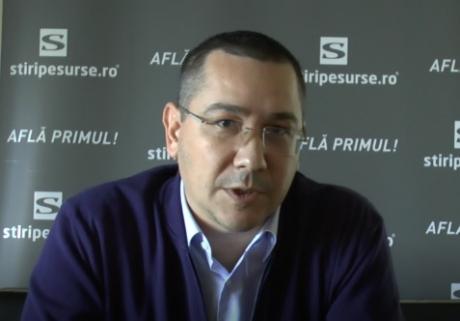 Victor Ponta anunţă trădări spectaculoase în PSD: 'Dragnea e deja istorie'