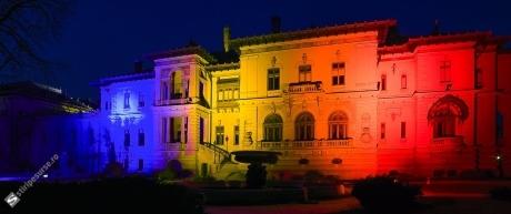 Ziua Unirii Principatelor Române: Palatul Cotroceni va fi iluminat în culorile drapelului