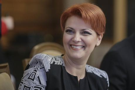 Lia Olguţa Vasilescu dă o VESTE URIAȘĂ bugetarilor: 'Sperăm să intre de la 1'