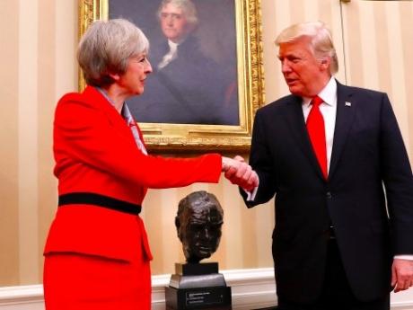 Întâlnire ŞOC între Donald Trump şi premierul Marii Britanii: Ce a anunţat Casa Albă