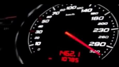 EXPLOZIE de șoferi care 'zburau' pe autostradă - Polițiștii au aplicat amenzi record