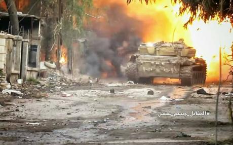 Armata siriană avansează în teritoriile controlate de jihadişti