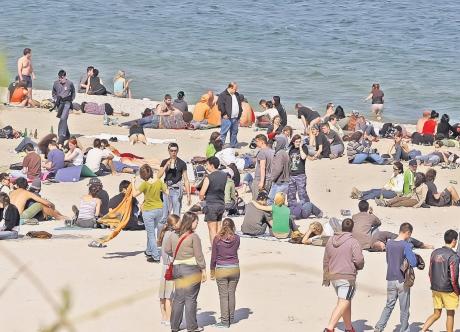Peste 40.000 de turiști sunt așteptați de Paști și 1 Mai pe litoral