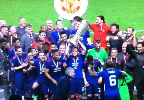 Manchester United a câştigat Europa League / VIDEO