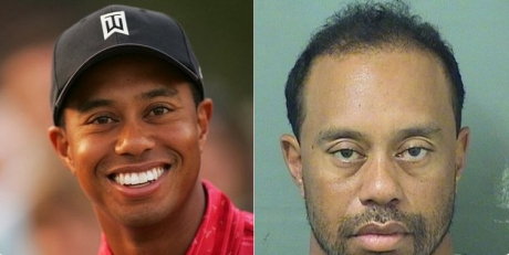 Tiger Woods a fost ARESTAT / FOTO