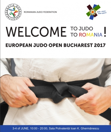 Romania's Cheru and Zaharia, European champions at the Kata European Judo Championships