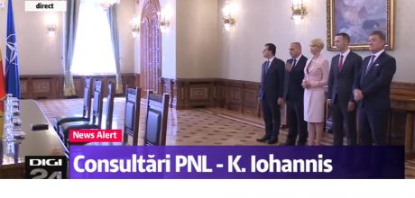 Liberalii au ajuns la consultările cu preşedintele Klaus Iohannis: Care sunt propunerile PNL / VIDEO
