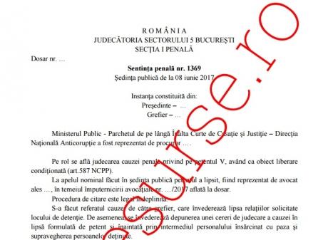 De ce s-a decis eliberarea lui Dan Voiculescu: A făcut curăţenie, sport şi artă/ DOCUMENT