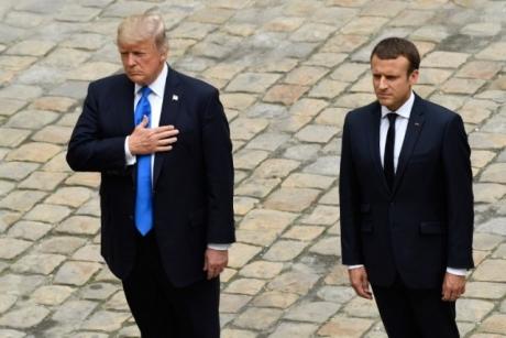 Trump își caută aliați, pentru conflictul cu Coreea de Nord: discuții cu Macron