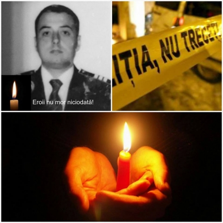 Poezie emoționantă a unui jandarm, după decesul polițistului: MURIM MAMĂ