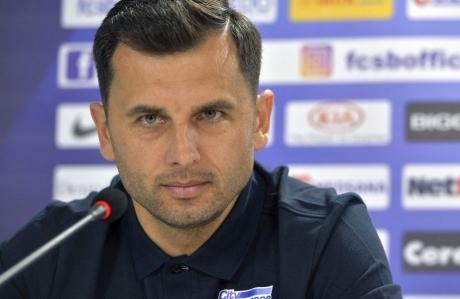Antrenorul FCSB, Nicolae Dică, după înfrângerea cu U Craiova: 'Trebuie să stăm cu capul sus'