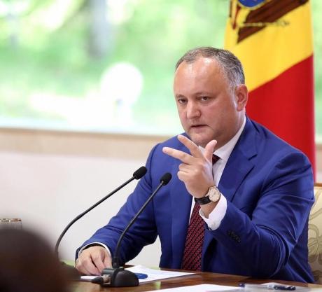 Igor Dodon, reacție VIOLENTĂ după ce România l-a interzis pe Dmitri Rogozin: 'Ei vor conflict, vor RĂZBOI AICI'