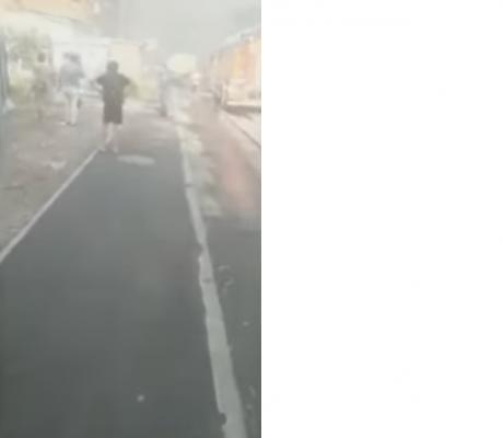 ALERTĂ în Rusia: Centrul unui mare oraș e în FLĂCĂRI, a fost decretată STAREA DE URGENȚĂ / VIDEO