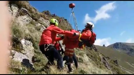 Intervenție cu elicopterul SMURD pentru salvarea unui biciclist la Păltiniș